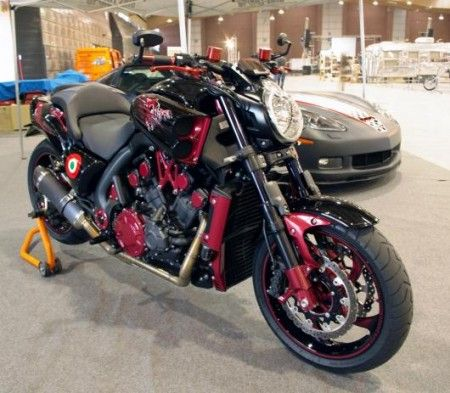 Yamaha V-Max special by Dangerous Toy Motorcycles