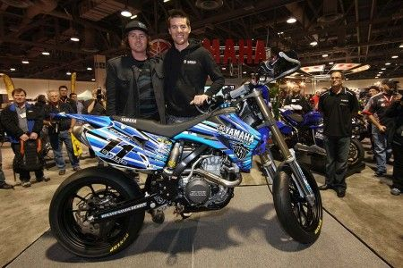 Yamaha WR 450 F speciale per Ben Spies