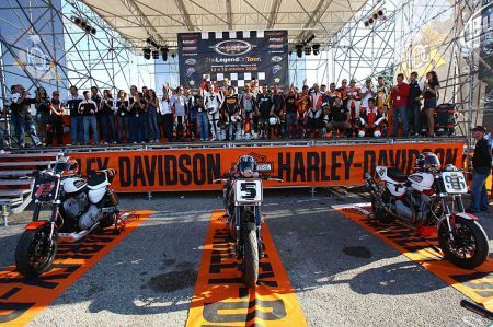 The Legend on tour by Harley-Davidson