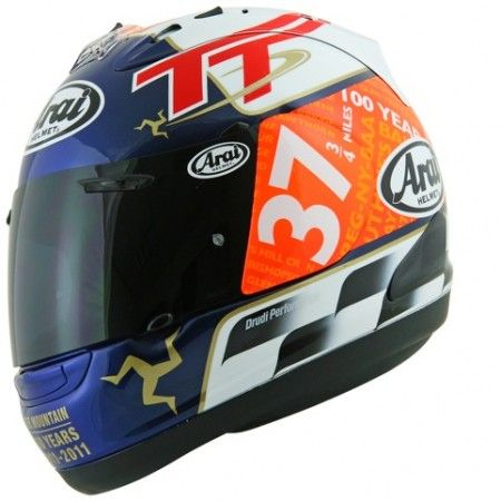 Caschi: Arai RX7-GP Isle of Man TT 2011