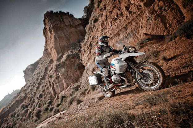 BMW R 1200 GS Adventure Anniversary in azione