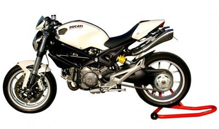 Accessori Moto Ducati: scarico HP Hydroform per Monster 696 e 1100S