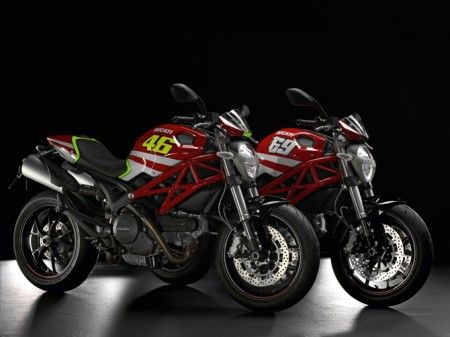 Ducati Monster GP Replica per celebrare Rossi e Hayden