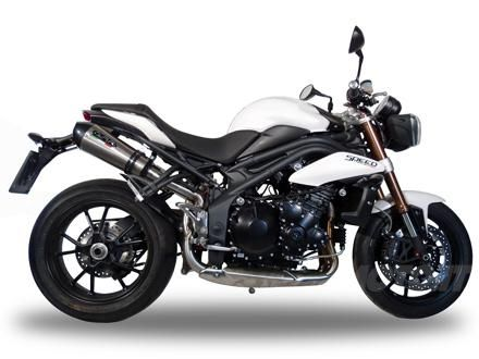 Accessori: scarichi GPR per Triumph Speed Triple 1050