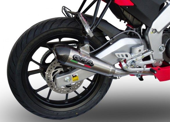 Accessori moto Aprilia: scarico GPR Ultracone per RS4 125