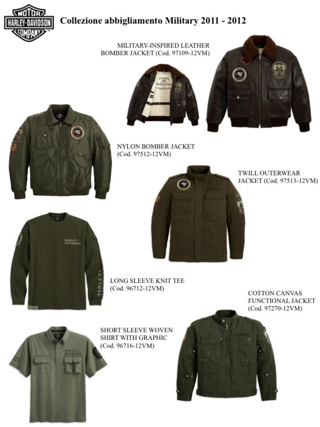 Harley Davidson Military Collection 2012