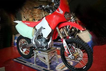 Accessori Moto Honda: kit rally per CRF 450 X