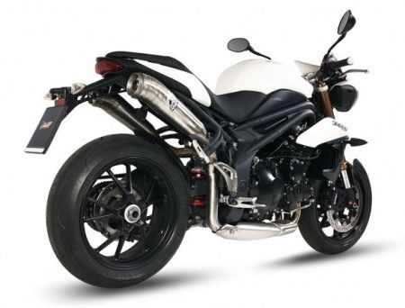 Accessori: scarichi MIVV per Triumph Tiger 800 e Speed Triple 2011