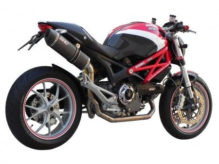 Accessori: scarico completo SC-Project per Ducati Monster 796 e 1100