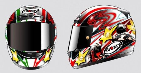 Suomy Apex Max Biaggi Limited Edition