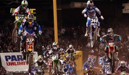 Supercross: Chad Reed trionfa a San Diego