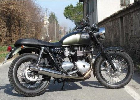 Moto Special: Triumph Bonneville Goldenboy e Six Days by Galli Moto
