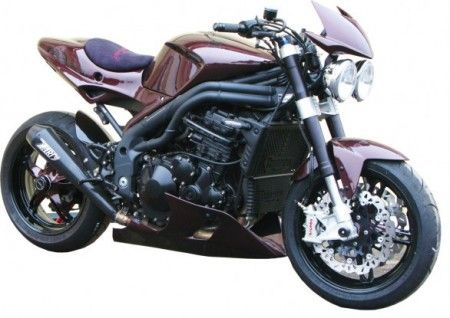 Moto special: Triumph Speed Triple 1050 CNC di IFB