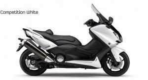 Yamaha T Max 2012 colorazione competition white