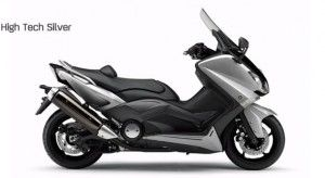 Yamaha T Max 2012 colorazione high tech silver