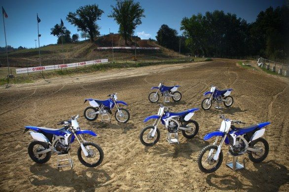 Yamaha punta ad un 2012 tutto off road