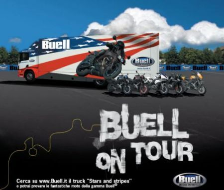 Buell on tour 2009