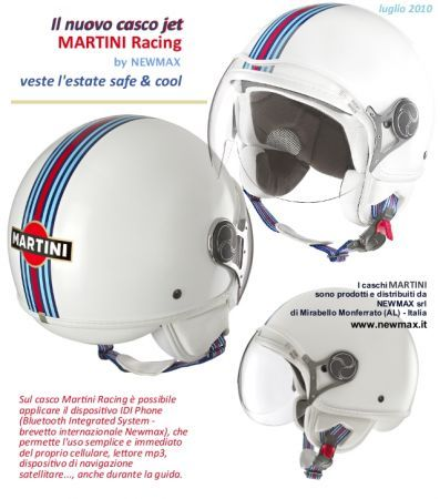 Casco Martini Racing by Newmax