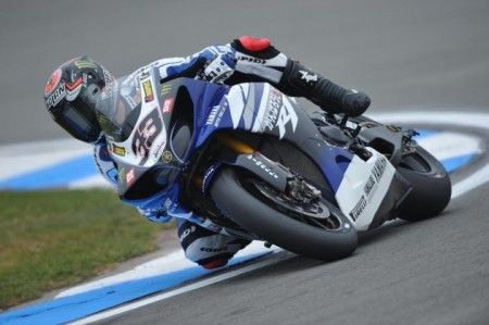 Superbike 2011 GP Germania, Melandri furioso: