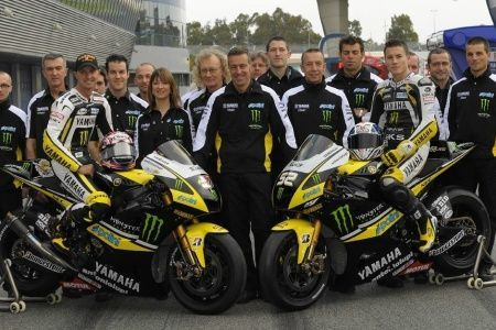 Il team Monster Yamaha Tech3