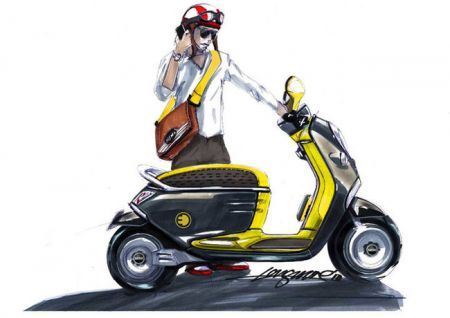 Scooter elettrico Mini by Bmw