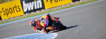Motogp Jerez: Stoner in pole