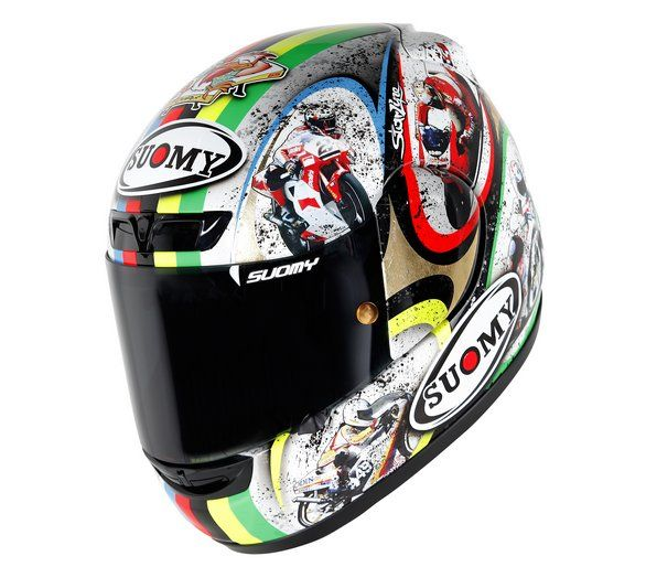 suomy casco celebrativo capirossi