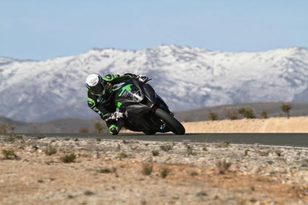 test kawasaki superbike 2012