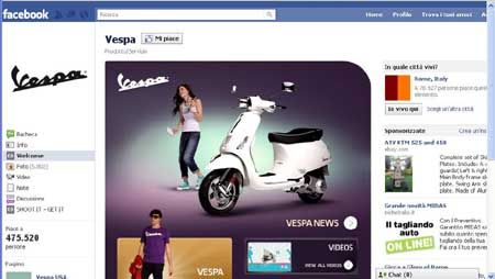 vespa official