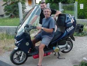 Scooter a metano