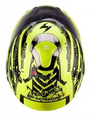 Casco Scoprion Exo 900 Air dall'alto
