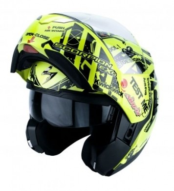 Casco Scoprion Exo 900 Air aperto