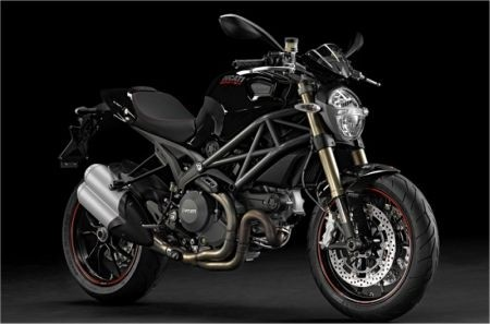 Ducati Monster 1100 Evo, vista laterale