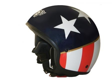 Fashion Helmet: casco Capitan America
