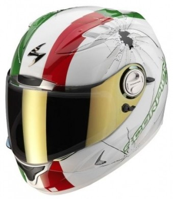 Scorpion Exo 1000 Air Hi Impact Tricolore