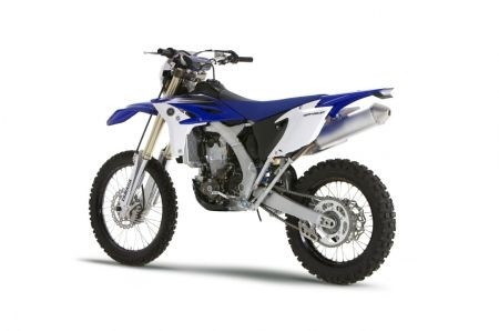 Yamaha WR 450 F 2012: il posteriore