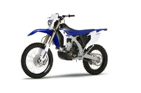 Yamaha WR 450 F 2012: il frontale