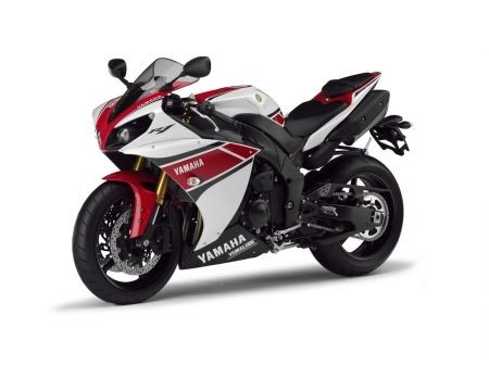 Yamaha YZF-R1 2012 WGP 50th Anniversary: il frontale