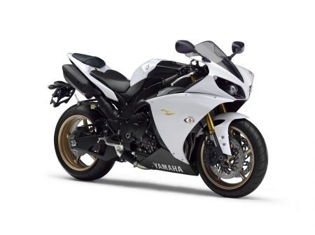 Yamaha YZF-R1 2012 Competition White