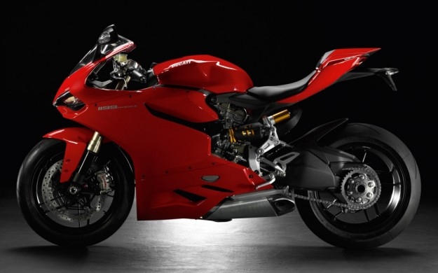 Ducati 1199 Panigale laterale sinistra