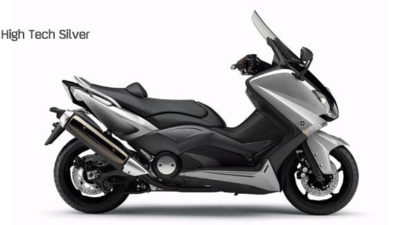 Yamaha T-Max 2012 colorazione high tech silver