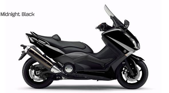 Yamaha T-Max 2012 colorazione midnight black