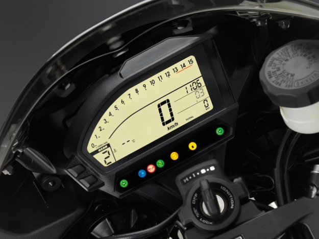 Honda Cbr 1000RR display