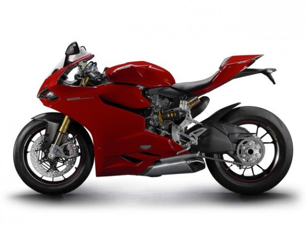 Ducati Panigale, laterale
