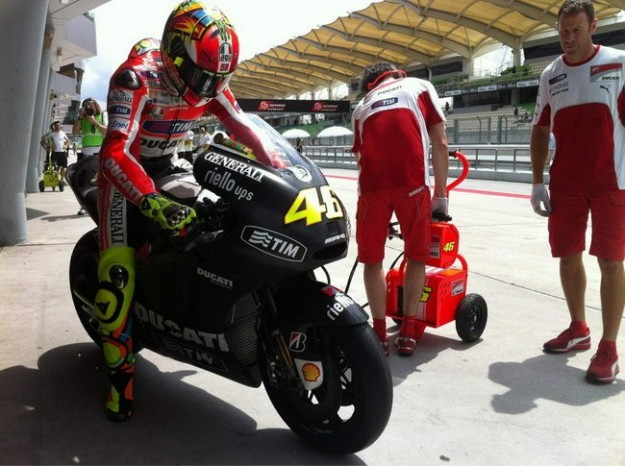 MotoGP 2012, in sella
