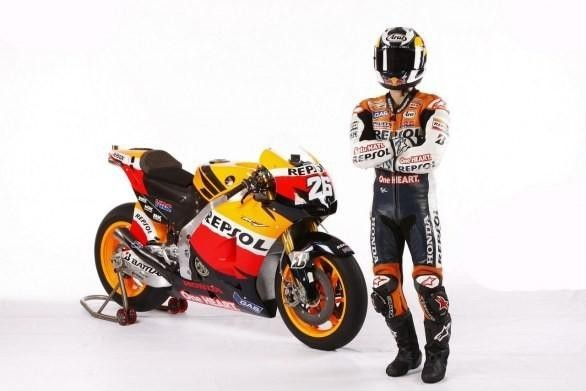 Honda RC213V, laterale