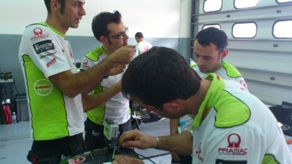 MotoGP 2012: test  di Sepang Day 2