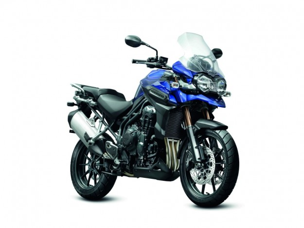 Trimph Tiger Explorer 1200 blu