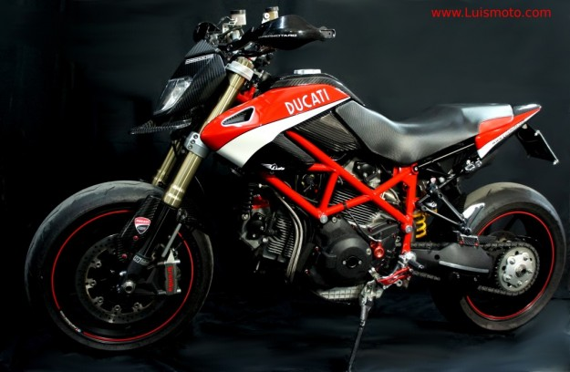 Moto Special Ducati Hypermotard 1100s by Luismoto