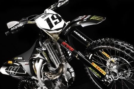 Yamaha YZ450F Motocross Team Replica